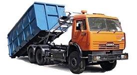 Заказ контейнера для вывоза мусора в Москве