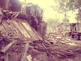 Цена на снос деревянного дома и вывоз мусора