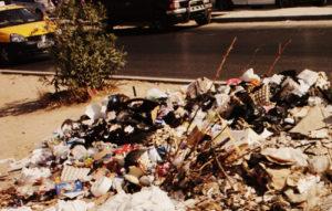 Уборка мусора в Дзержинском